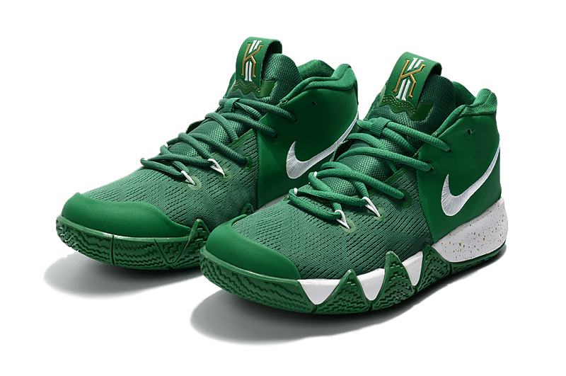 Nike Kyrie 4 Green White Shoes