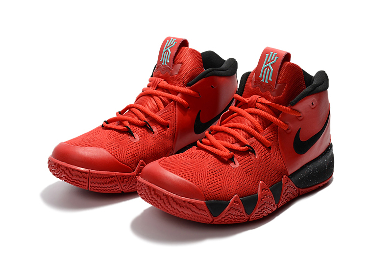 Nike Kyrie 4 Red Black Shoes
