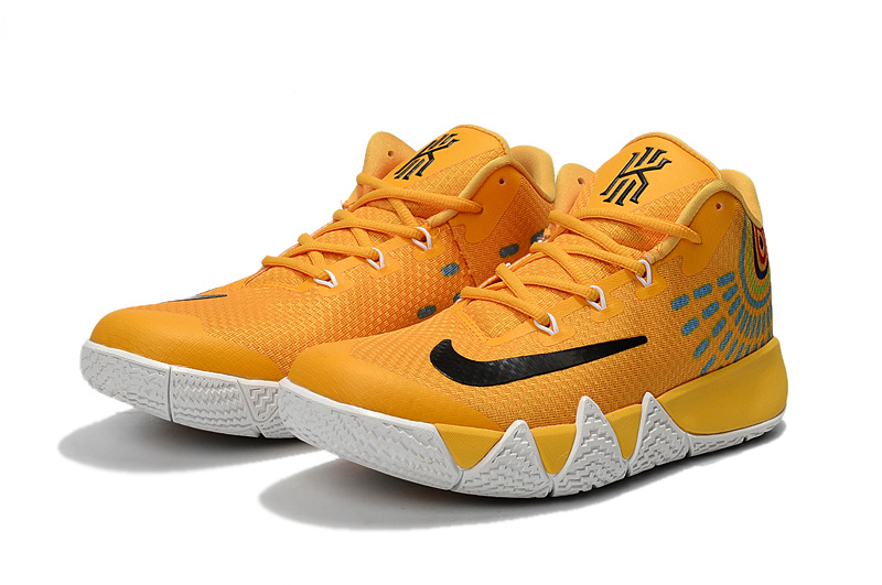 Nike Kyrie 4 Yellow Black Shoes