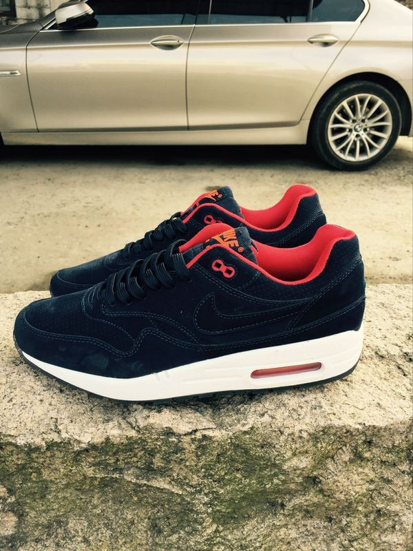 Nike LAB Air Max 1 Black Red White Shoes