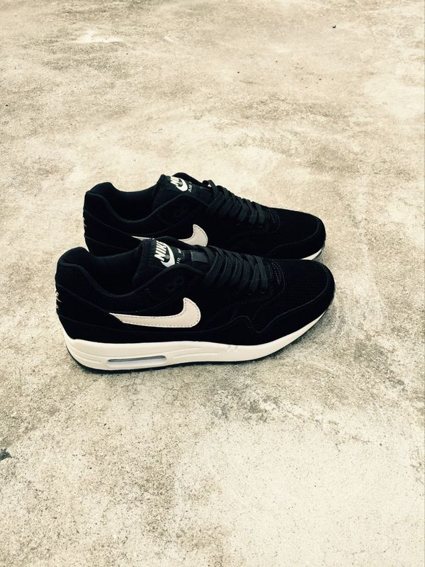Nike LAB Air Max 1 Deluxe Black White Shoes