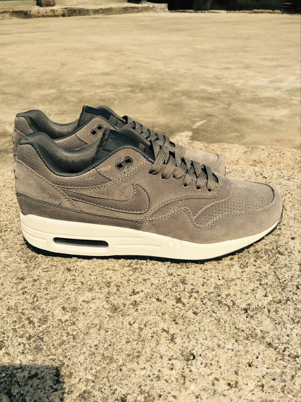 Nike LAB Air Max 1 Deluxe Grey White Shoes