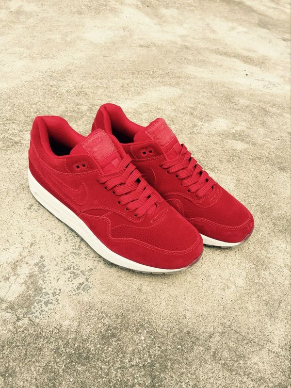 Nike LAB Air Max 1 Deluxe Red White Shoes