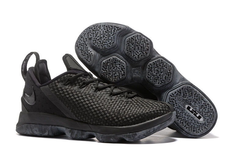 Nike LeBron 14 Low All Black Shoes