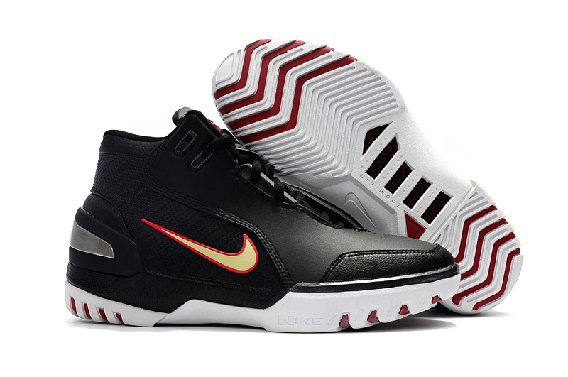 Nike LeBron I Retro Black Red White Shoes