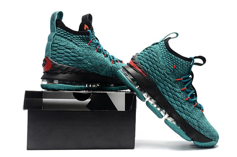 c940ae9fb2d80 Nike LeBron James 15 Laker Blue Black Red Shoes  17kobe10907 ...
