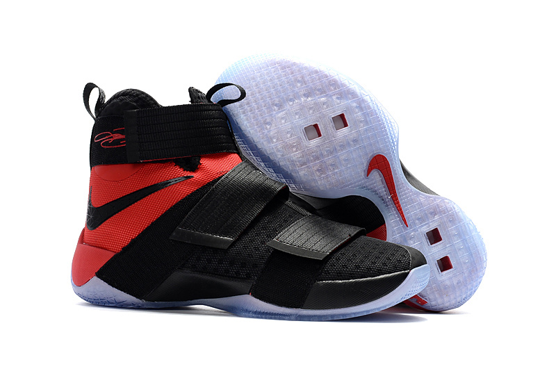 Nike LeBron Soldier 10 EP Black Red Shoes