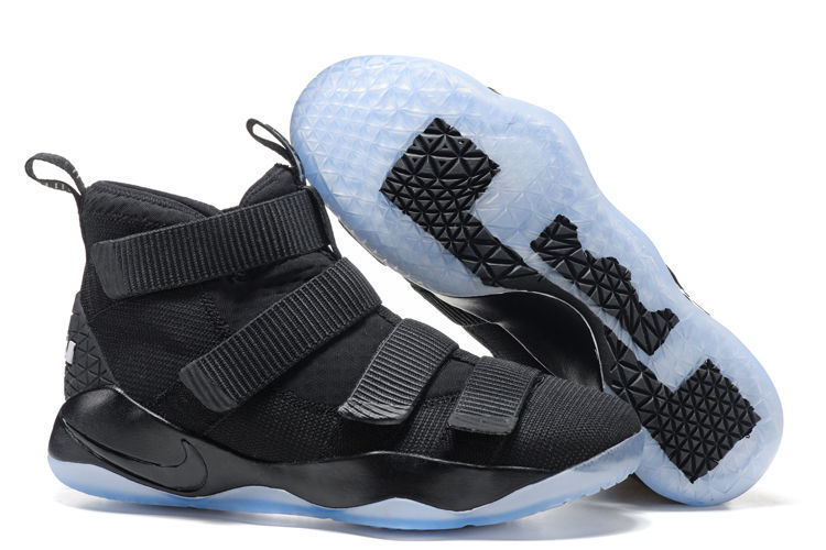 Nike LeBron Soldier 11 Black Shoes