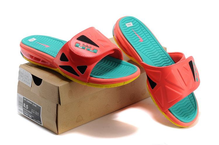 b4f1b63d923 Nike Lebron James Hydro 10 Air Cushion Watermelon Colorways Sandal