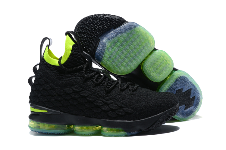 Nike Lebron 15 Black Green Shoes