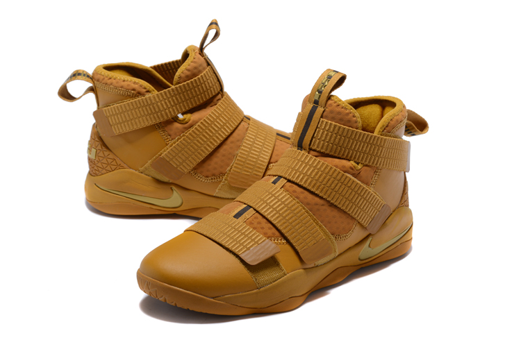 Nike Lebron James Soldier 11 Wheat Shoes