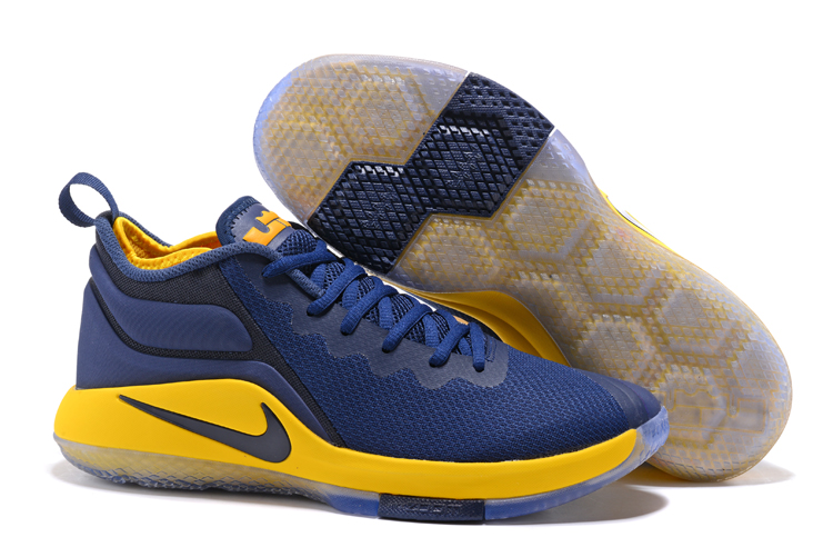 Nike Lebron Witness 2 Blue Yellow Shoes