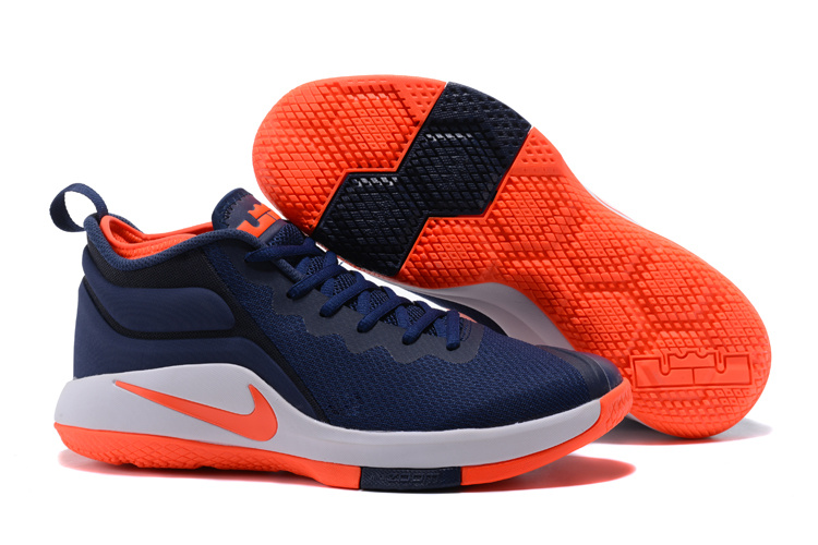 Nike Lebron Witness 2 Sea Blue Orange Shoes