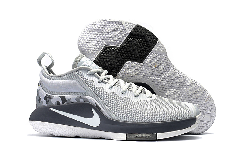 Nike Lebron Witness II Grey Black White Shoes