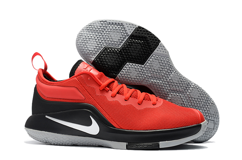 Nike Lebron Witness II Red Black Shoes