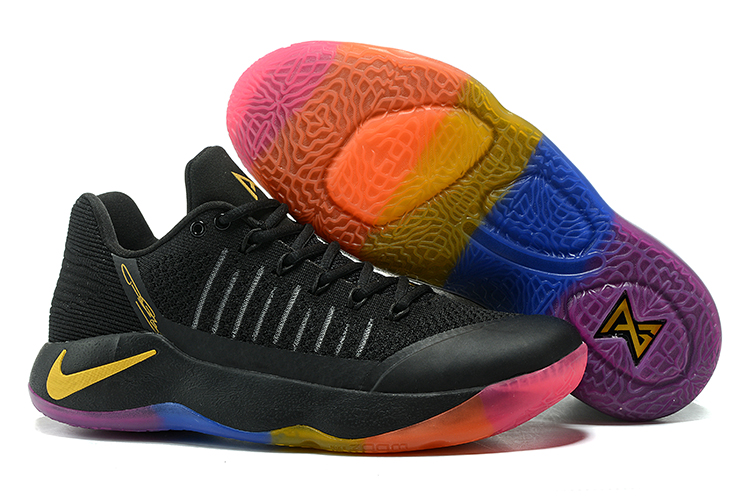 Nike PG 2 Flyknit Black Colorful Shoes