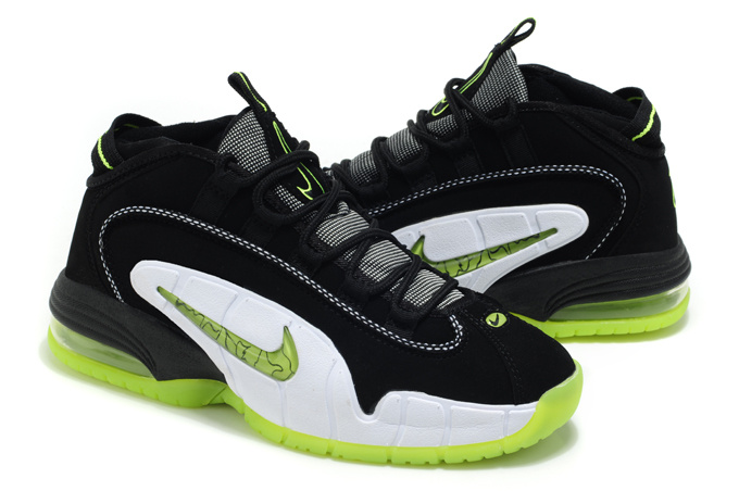 Nike Penny Hardaway 1 Black Green Shoes