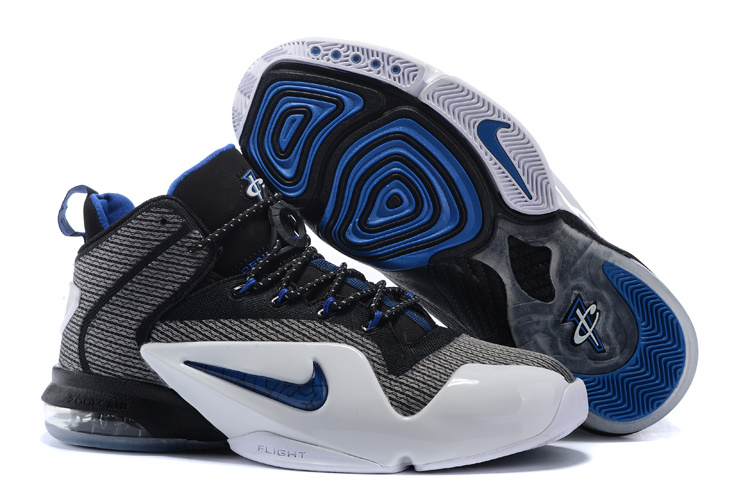 Nike Penny Hardaway 6 Black Blue White Shoes