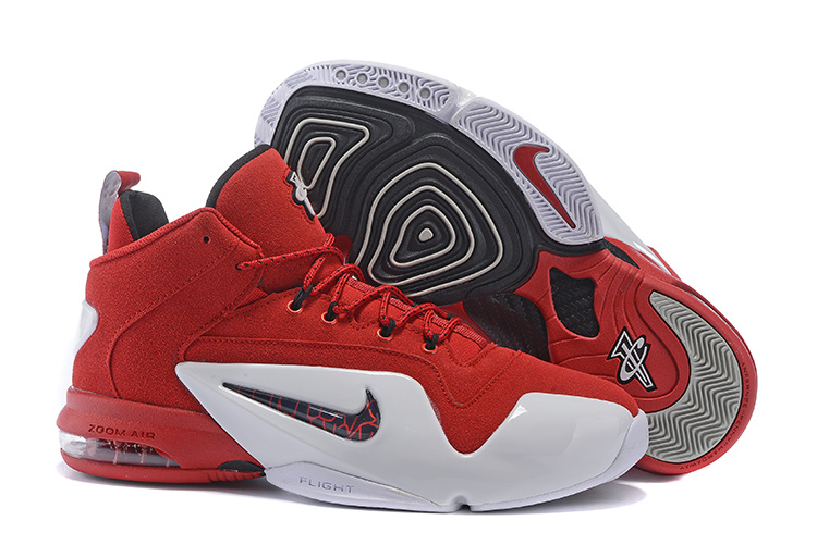 Nike Penny Hardaway 6 Red White Shoes