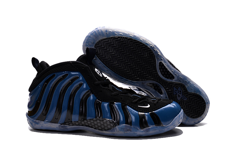 Nike Penny Hardaway Deep Blue Black Shoes