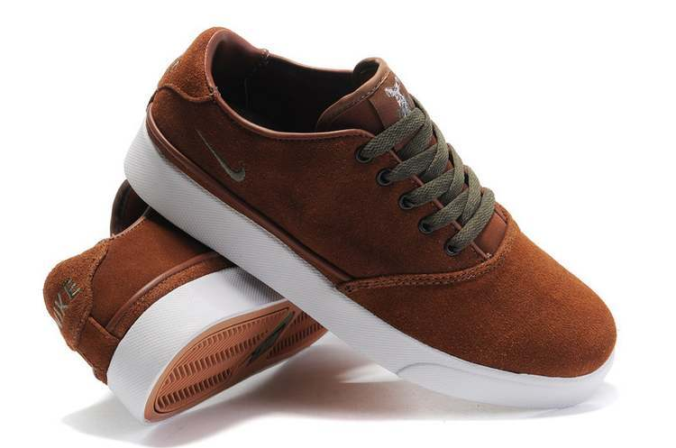 Nike Pepper Low Brown White Shoes