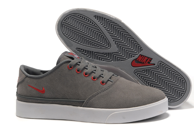 Nike Pepper Low Grey Red Shoes
