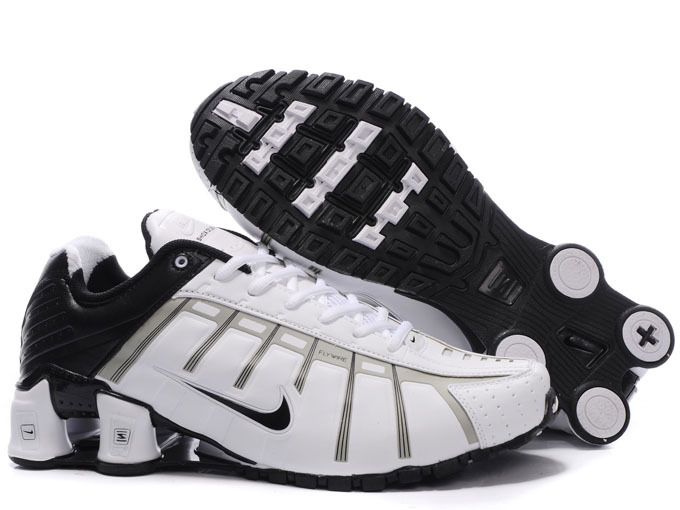 Nike Shox NZ III White Black Shoes