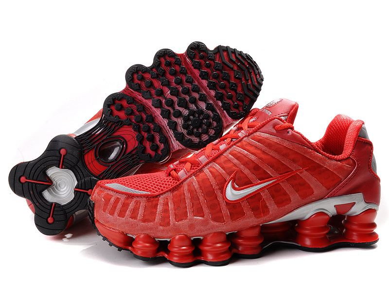 Nike Shox TL1 All Red Shoes