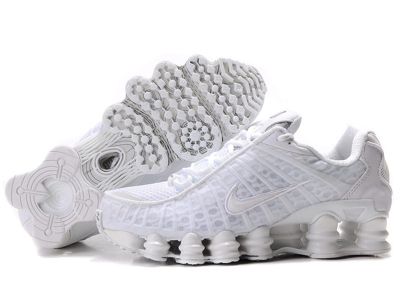 on sale 9e98f 1ccac ... cheapest nike shox tl1 all white shoes for women 72463 e2603 ...