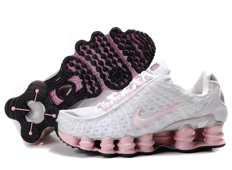 Nike Shox TL1 White Pink Shoes For Women