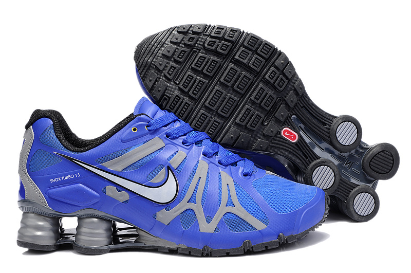 Nike Shox Turbo+13 Blue Grey Shoes