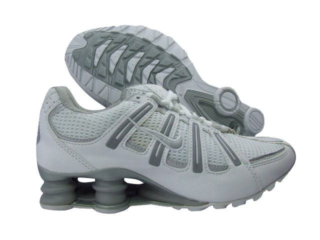 Nike Shox Turbo Men's Shoes White Grey