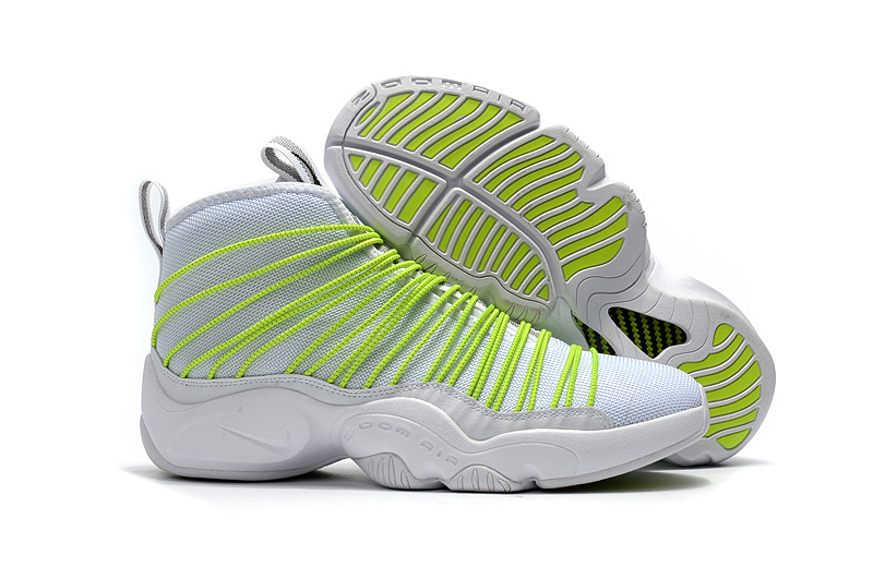 Nike Zoom Cabos Payton White Fluorscent Green Shoes