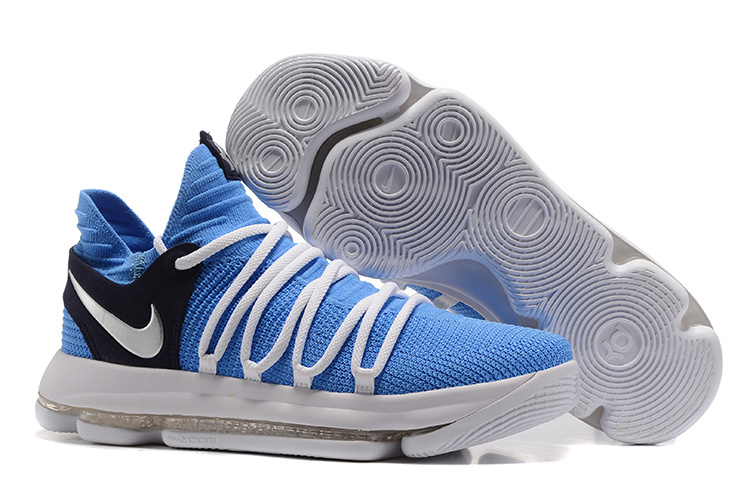 Nike Zoom KD 10 EP Blue White Black Shoes