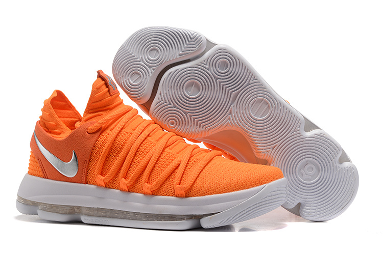 Nike Zoom KD 10 EP Orange White Shoes