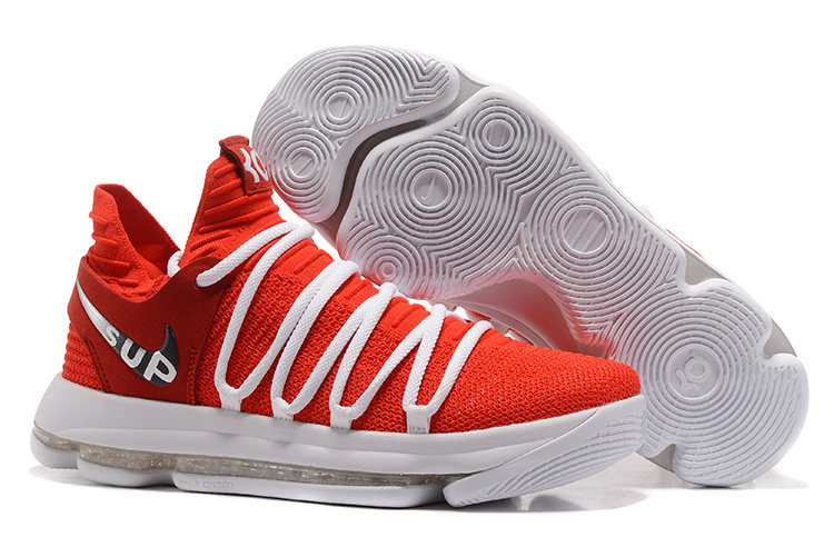 Nike Zoom KD 10 EP Red White Shoes