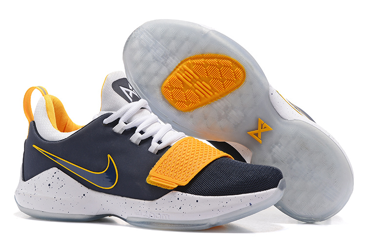 Nike Zoom PG 1 Black Yellow White Shoes