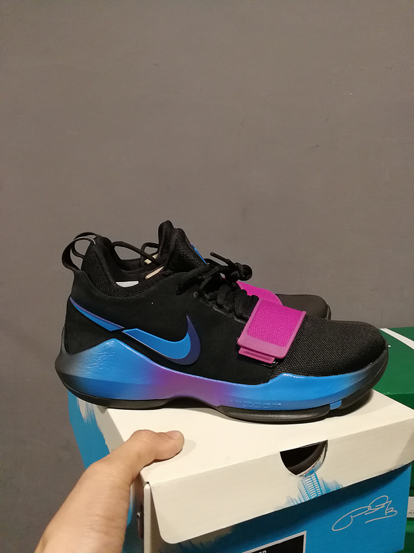 Nike Zoom PG 1 Fantasy Hook Black Blue Pink Shoes