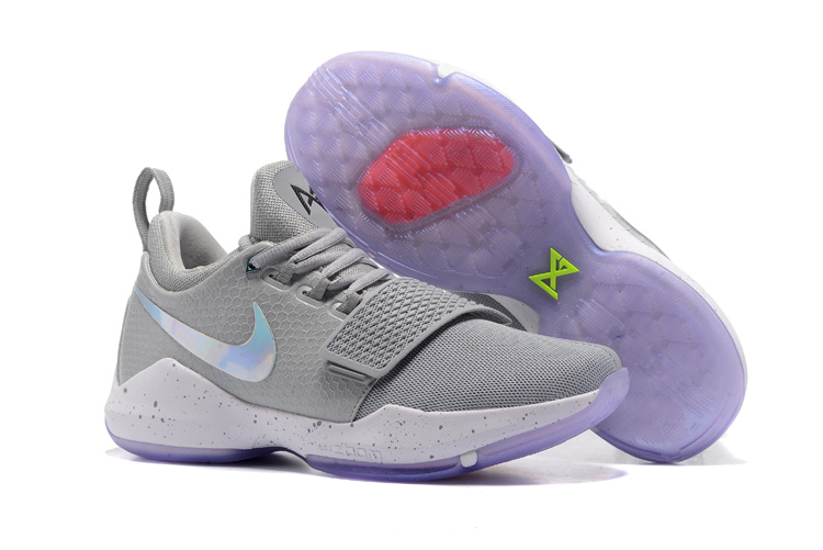 Nike Zoom PG 1 Grey Silver Shoes