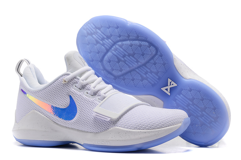 Nike Zoom PG 1 White Shine Blue Shoes
