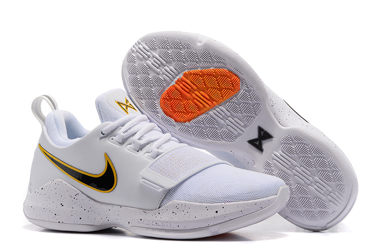 Nike Zoom PG 1 White Yellow Black Shoes