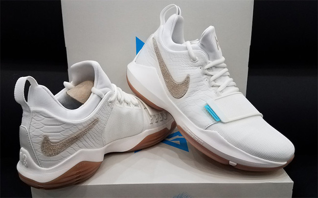 Nike Zoom PG 1 White Yellow Shoes