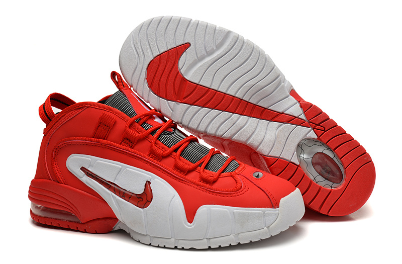 Nike Air Penny Red White Shoes