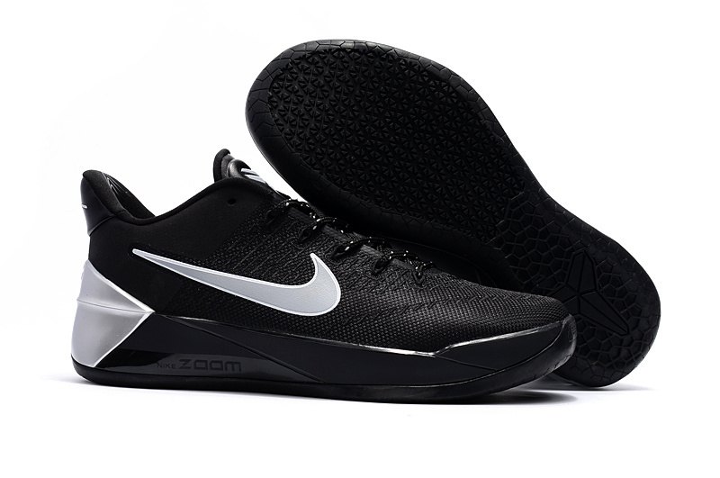 Official Nike Kobe Bryant 12 Black White Shoes