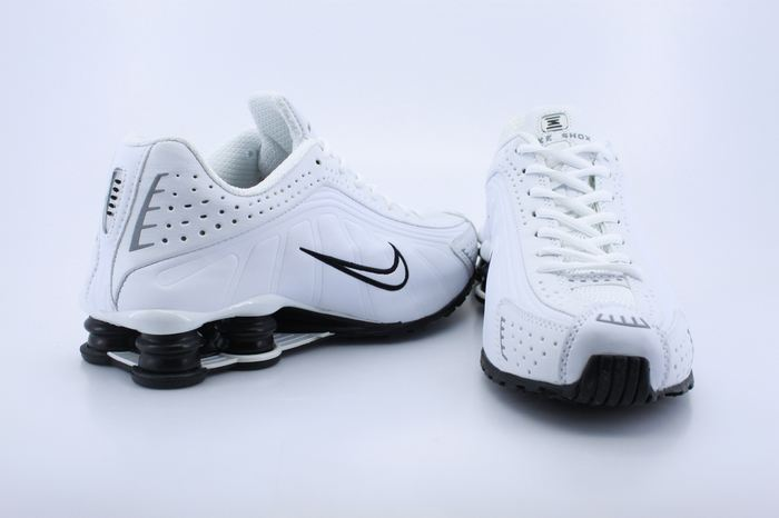 Original Nike Shox R4 White Black