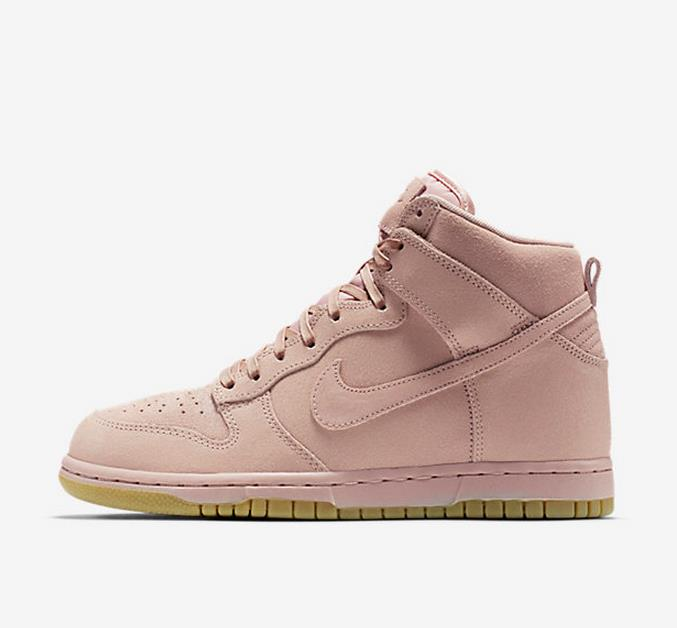 Women Nike Dunk High Prm SB Pink