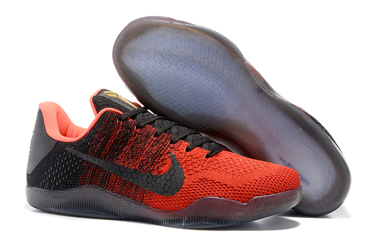 Women Nike Kobe 11 Red Black Shoes