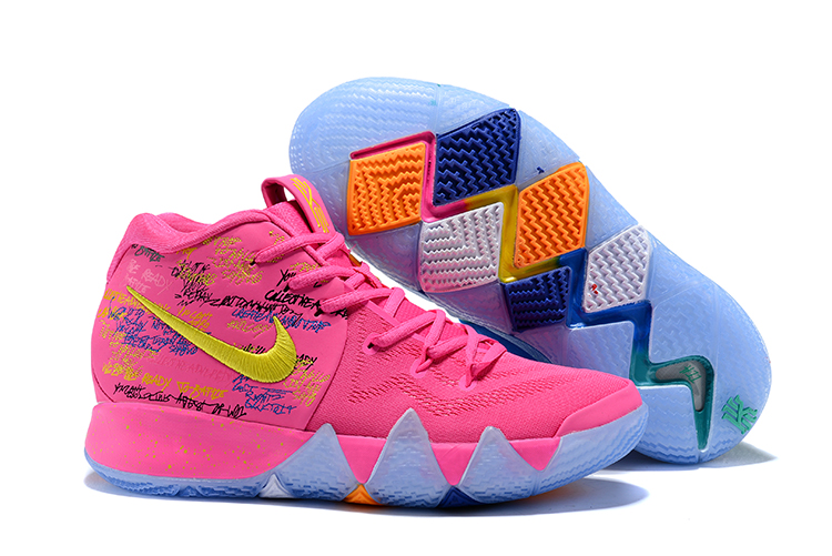 Women Nike Kyrie 4 Christams Shoes