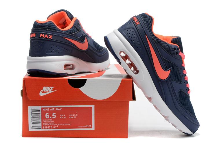 94ecdc6635a1 2016 Women Nike Air Max 85 Black Reddish Orange