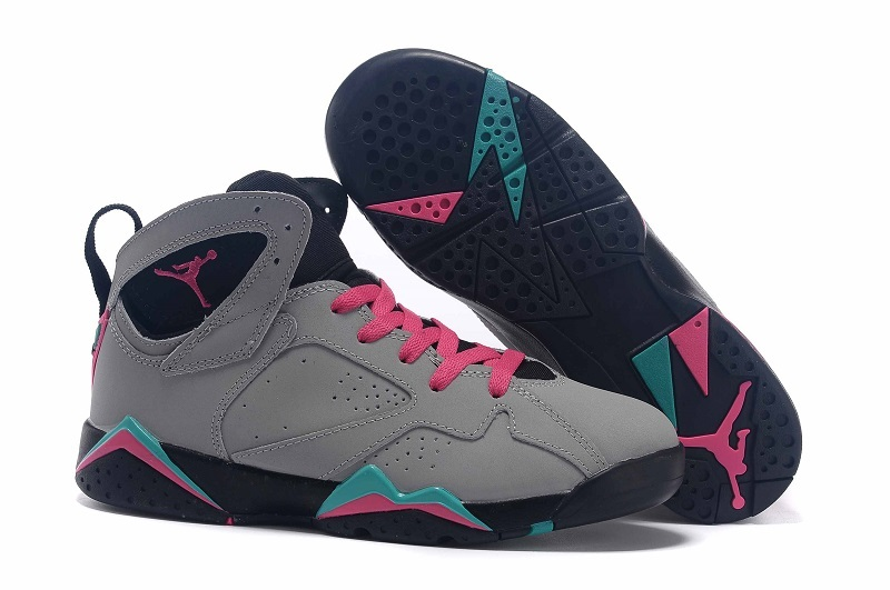 Women Nike Air Jordan 7 GS Miami Vice Shoes